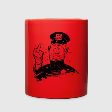 angry cop - Full Color Mug