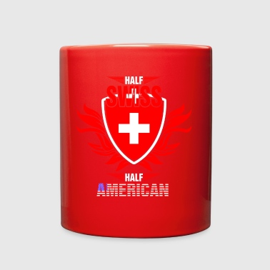 Half Swiss Half American - Full Color Mug
