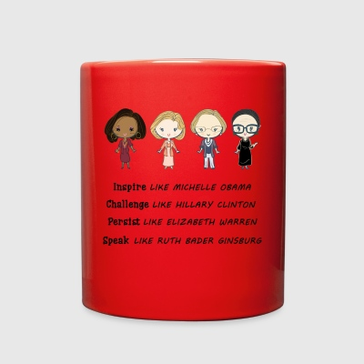 Inspire like Michelle Obama mug - Full Color Mug