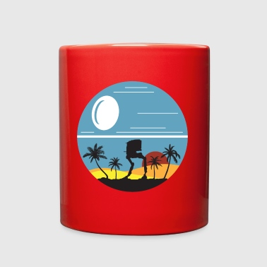 AT-ST on Scarif - Full Color Mug