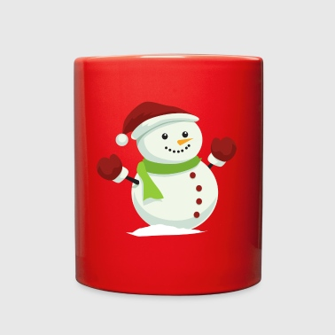 CHRISTMAS SNOWMAN - Full Color Mug