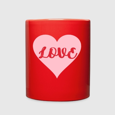 Love for Valentines Day gift women gift wife - Full Color Mug