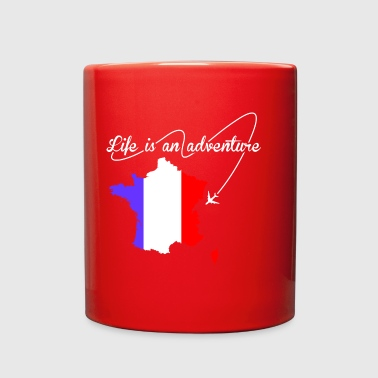French Life Is An Adventure - Full Color Mug