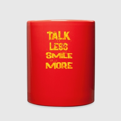 talk less smile more 2 - Full Color Mug