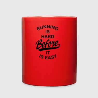 running - Full Color Mug