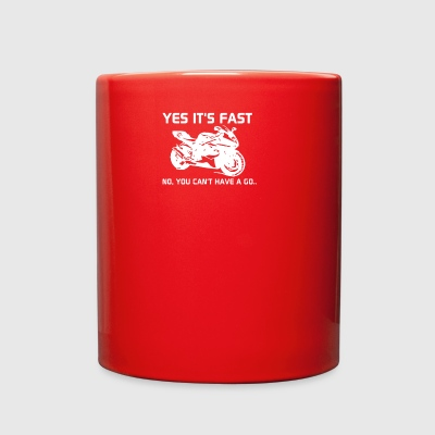 yest is fast - Full Color Mug