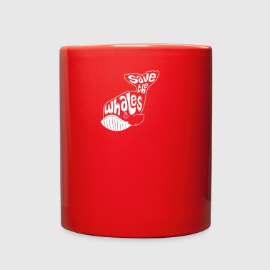 Tail Save the Whales - Full Color Mug
