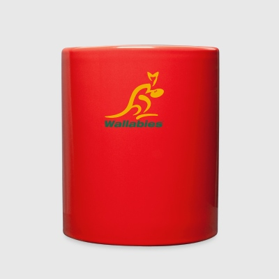 Wallabies Gold Logo - Full Color Mug