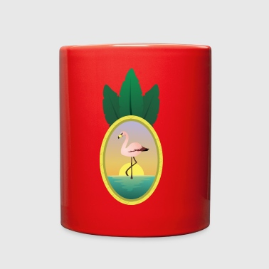 FLAMINGO PARADISE - Full Color Mug