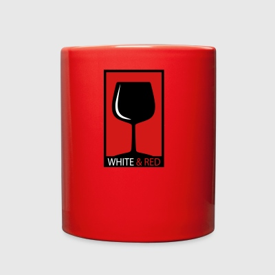 wine glass - Full Color Mug