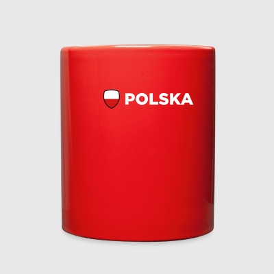 National Flag Of Poland - Full Color Mug