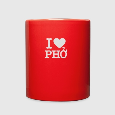 i love pho - Full Color Mug
