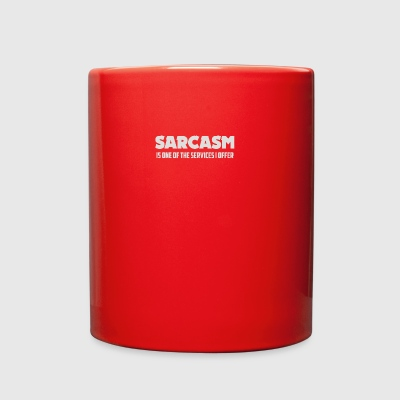 SARCASM SERVICES - Full Color Mug