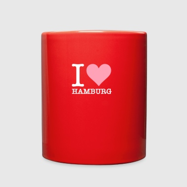 I Love Hamburg - Full Color Mug