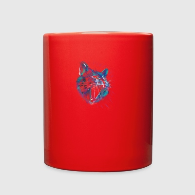 Wild Cat - Full Color Mug