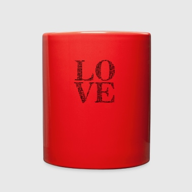 love humans people person - Full Color Mug
