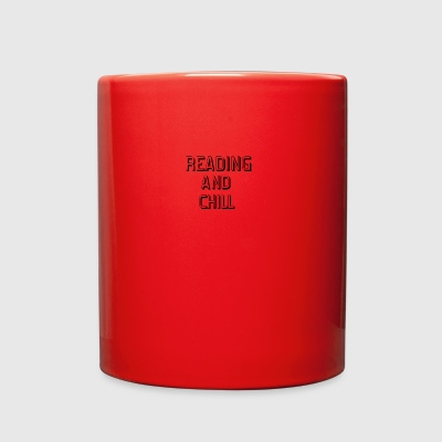 Reading Chill - Full Color Mug