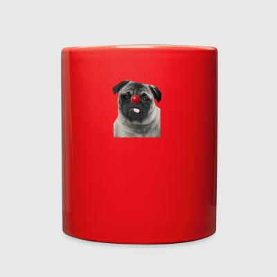 Red Nose Day Pug - Full Color Mug
