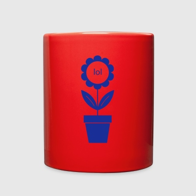 lol flower - Full Color Mug
