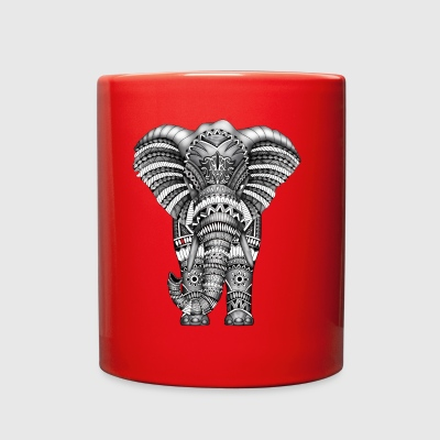 Aztec Elephant TSHIRT - Full Color Mug