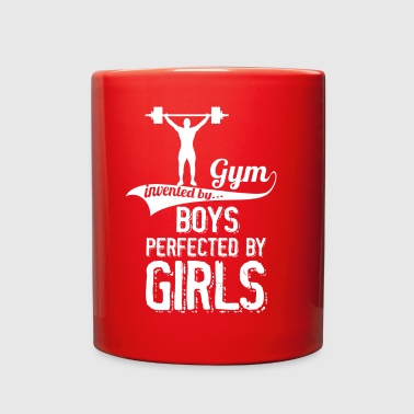 Gym Invented By Boys Perfected By Girls - Full Color Mug