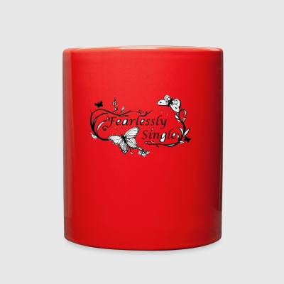 fearlessly single - Full Color Mug