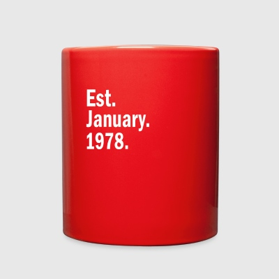Est January 1978 - Full Color Mug