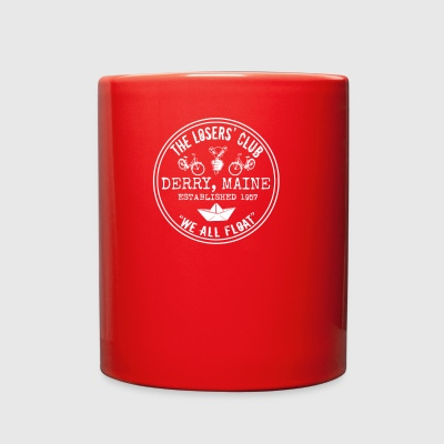 The Losers' Club Emblem - White Text - Full Color Mug
