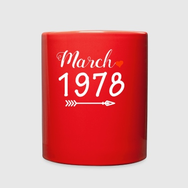 March 1978 Heart And Arrow - Full Color Mug