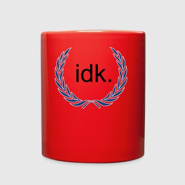 idk by Towffle - Full Color Mug