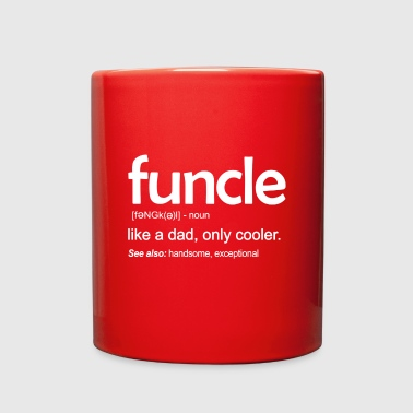 Funcle Definition Funny Gift For Uncle - Full Color Mug