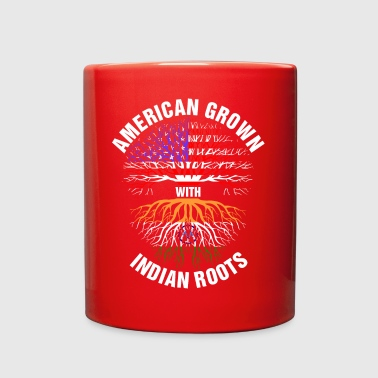 American Grown Indian Roots - Full Color Mug