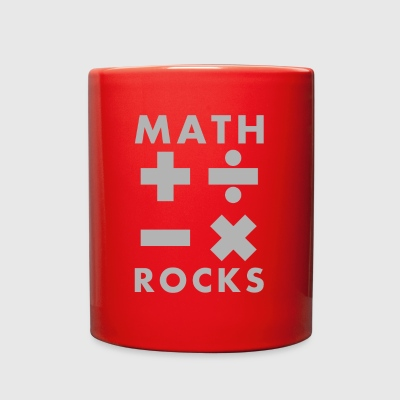 Math Rocks - Full Color Mug