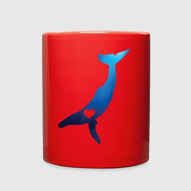 Heart Your Humpback Whale - Full Color Mug