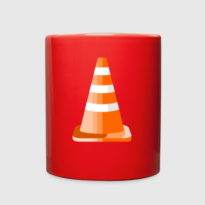 Safety Road Cone - Full Color Mug