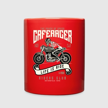 Speed Of Caferacer - Full Color Mug