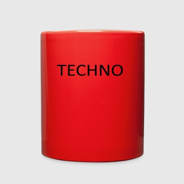 TECHNO - Full Color Mug