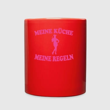 MEINE KUeCHE MEINE rosa - Full Color Mug