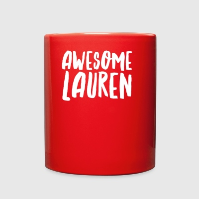 Awesome Lauren - Full Color Mug