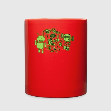 Android Exploded - Full Color Mug