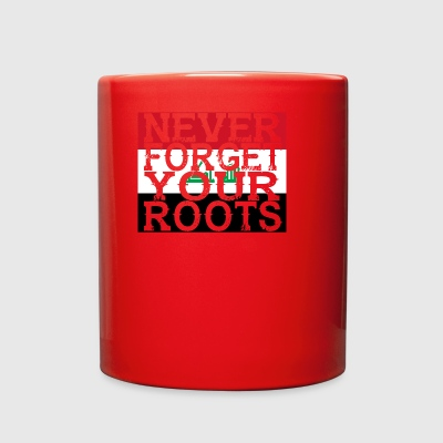 never forget roots home Irak - Full Color Mug