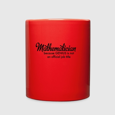 mathematician - Full Color Mug