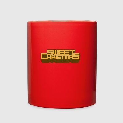 sweet christmas - Full Color Mug