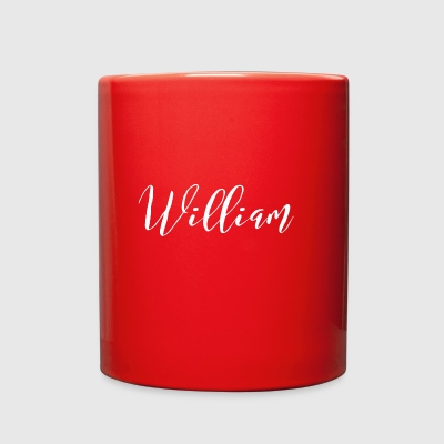 William - Full Color Mug