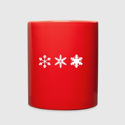 snowflake - Full Color Mug