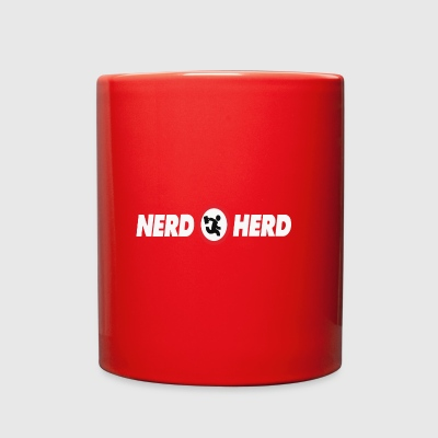 Nerd Herd funny geek - Full Color Mug