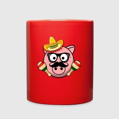 Senior Pig - Full Color Mug