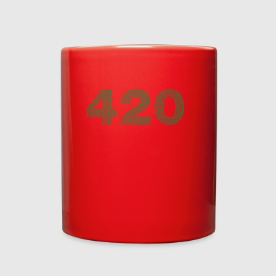 marijuana 420 - Full Color Mug