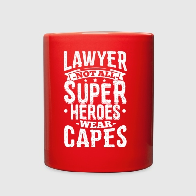 Funny Lawyer Attorney Shirt Not All Superheroes - Full Color Mug