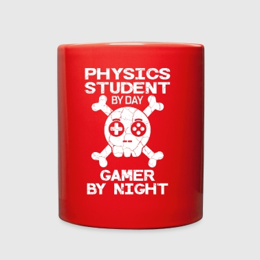Physics Student By Day Gamer By Night Gift - Full Color Mug